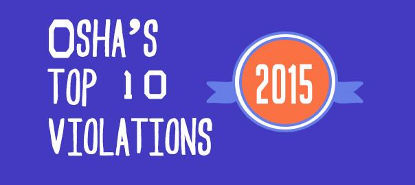 top osha violations 2015